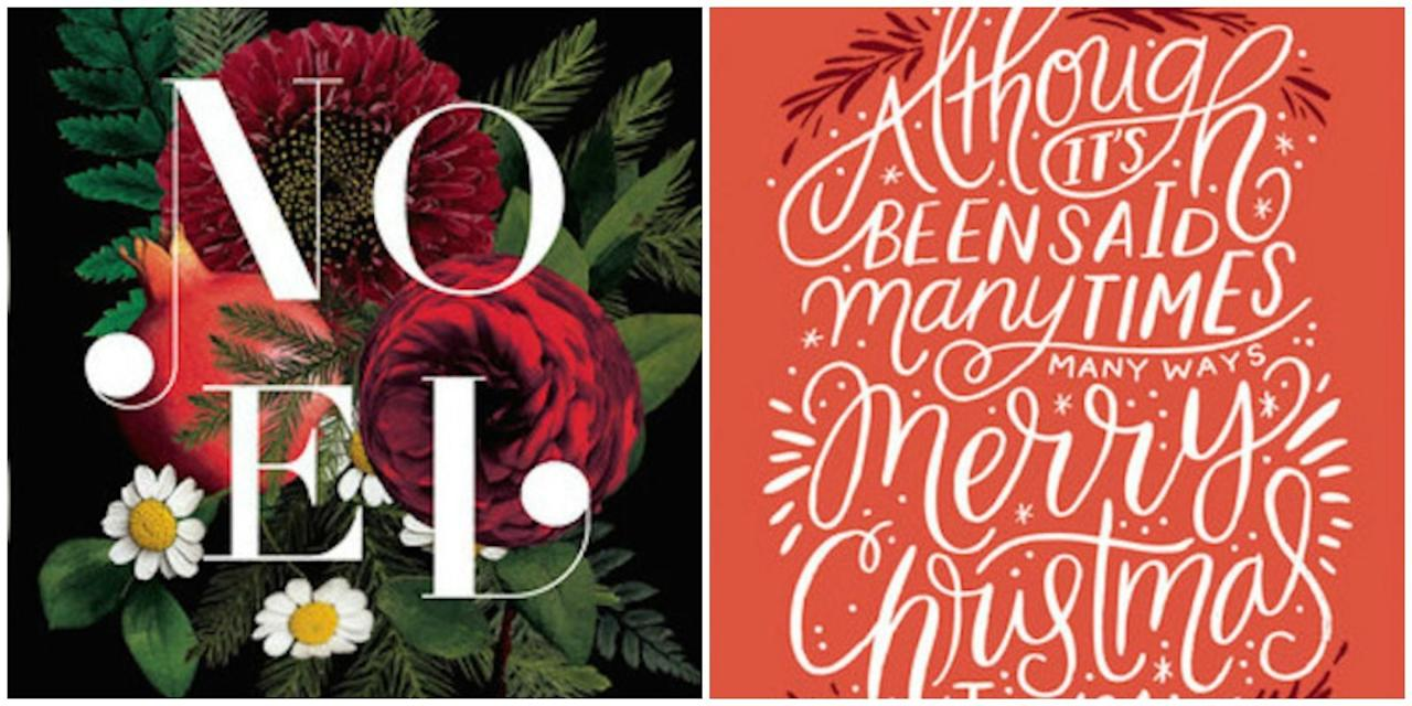 15 Best Christmas Card Ideas We 39 Re Loving For 2016