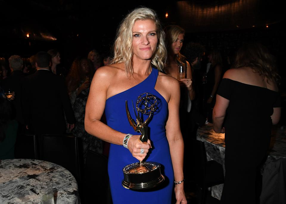 LOS ANGELES, CALIFORNIA - SEPTEMBER 22: Lindsay Shookus takes part in HBO's official Emmy After Party 2019 on September 22, 2019 in Los Angeles, California.  (Photo by Jeff Kravitz / FilmMagic for HBO)