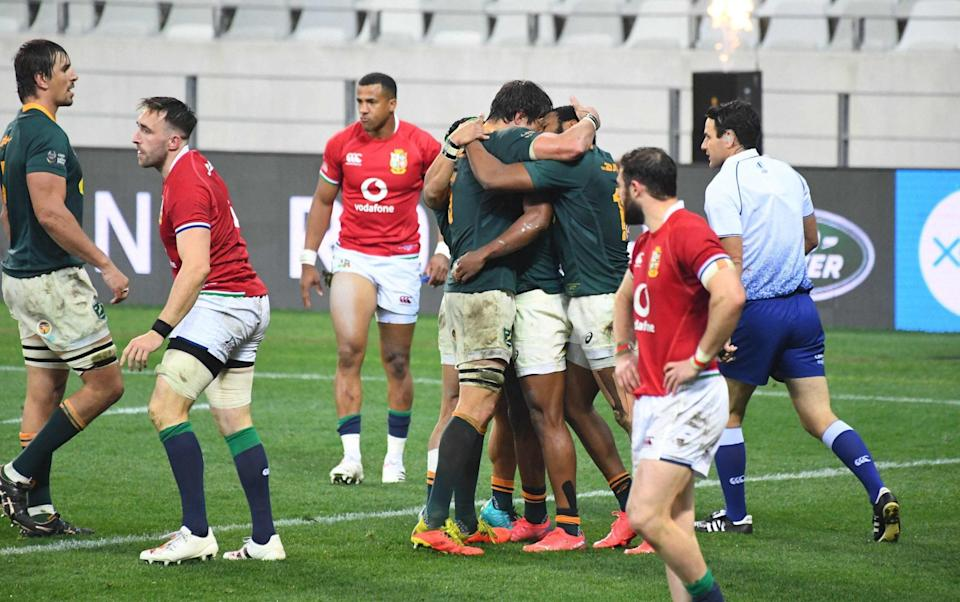 South Africa dominated the second half winning the second 40 minutes 21-0 - AFP