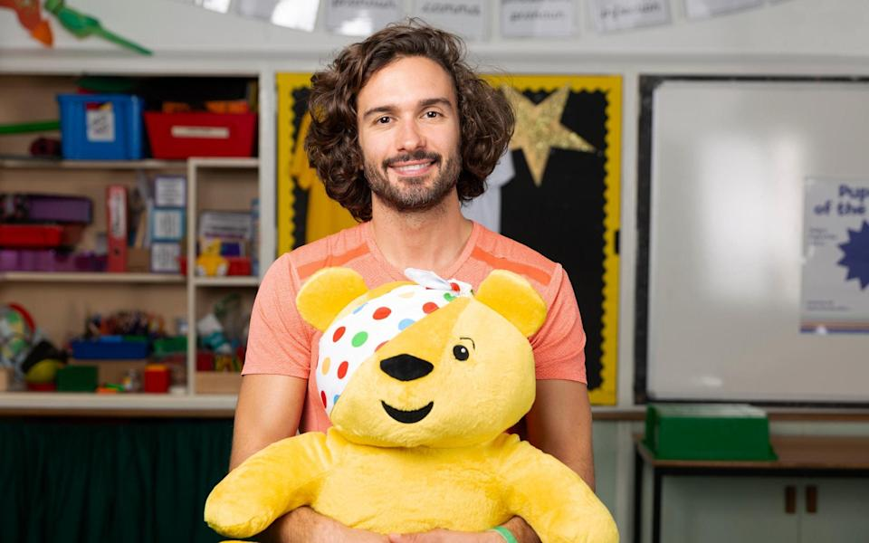 Joe Wicks is attempting to work out for 24 hours straight as part of this year's BBC Children in Need - BBC