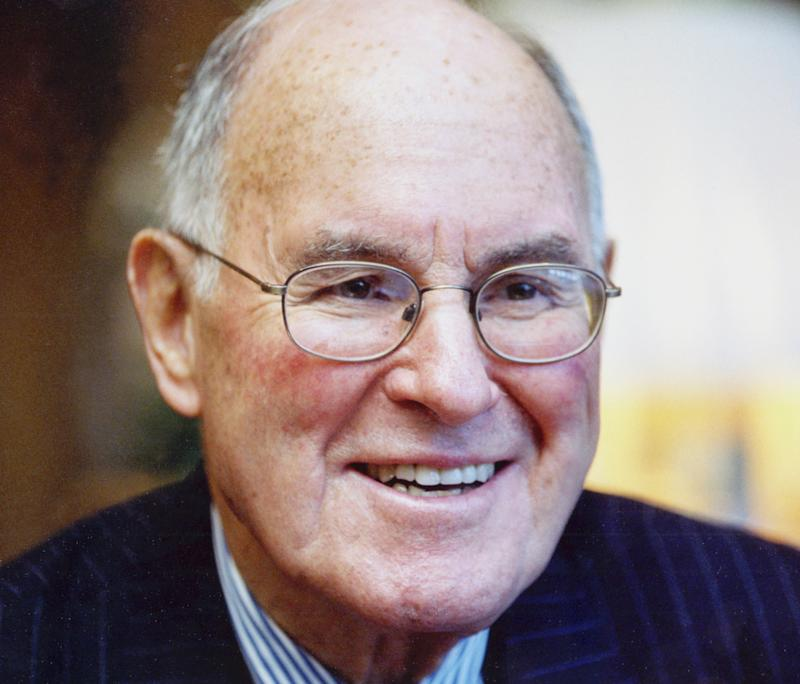 An undated photo provided by Edelman Public Relations shows the company's founder Dan Edelman.   Edelman died in Chicago on Tuesday, Jan. 15, 2013. He was 92. (AP Photo/Edelman Public relations)