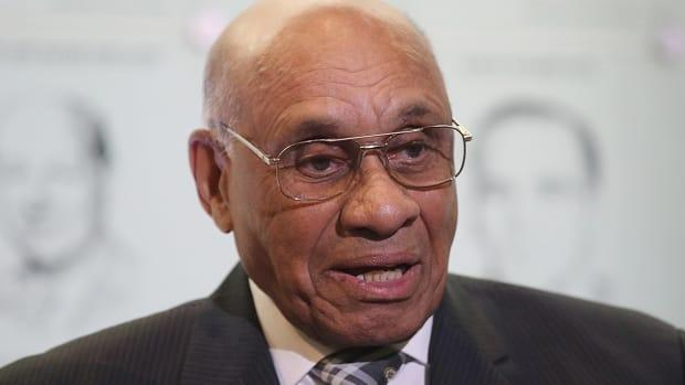 Willie O'Ree broke the NHL's colour barrier in 1958.