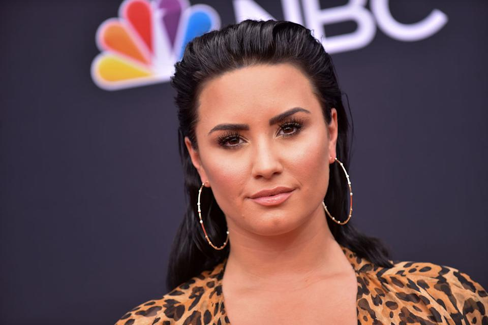 Demi Lovato attends the 2018 Billboard Music Awards on May 20, 2018, in Las Vegas. (Photo: LISA O'CONNOR/AFP/Getty Images)