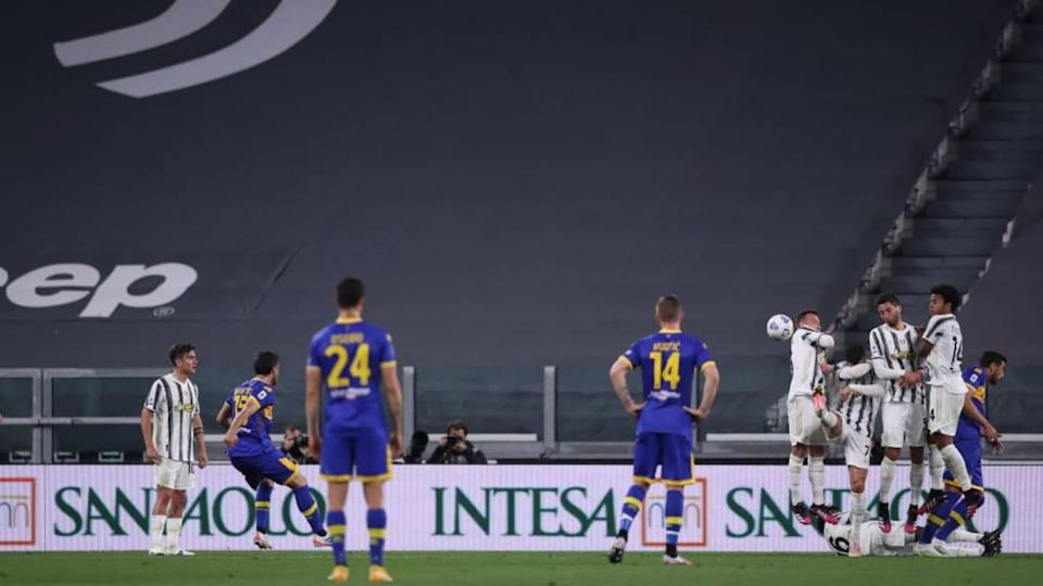 Brugman punizione, Juventus-Parma | Jonathan Moscrop/Getty Images