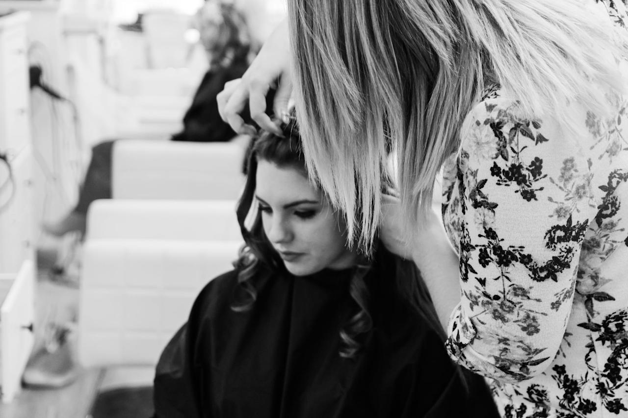 """<p>Are you going to get your hair styled before an event? We have two words for you: bring pictures. It can be difficult to adequately describe a hairstyle, and if you don't have the words, it's easy to get flustered, unsure, and unassertive. Prevent that from happening by doing some research and providing a stylist with pictures. It will give them a reference point for how you expect your hair to look at the end of the appointment. </p> <p>If you have provided pictures and the stylist still isn't going in a direction that you're thrilled about, say something along the lines of: """"hmm, I was hoping to have more volume,"""" or """"I would like it to look looser, natural, and effortless."""" It's not rude, it's actually helpful to the hairstylist, who wants you to love your hair.</p>"""