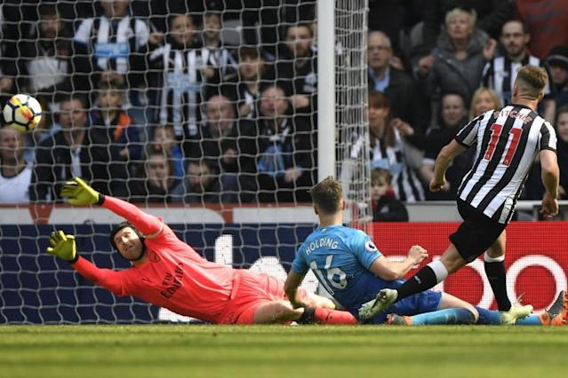 Newcastle 2 Arsenal 1: Miserable away run continues for Gunners as Magpies earn St James' Park comeback win