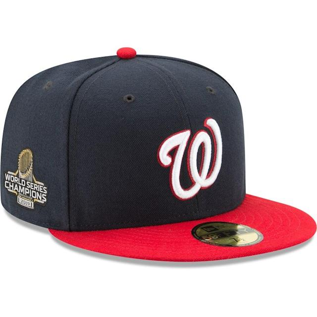Nationals 2019 World Series Champions Fitted Hat