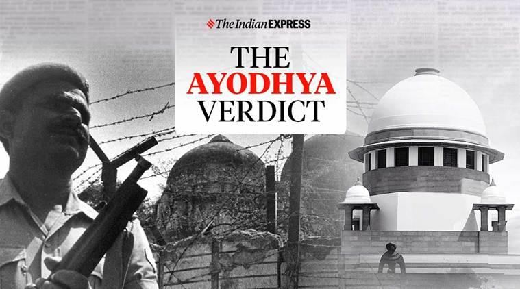 ayodhya ram temple verdict, supreme court ram temple verdict