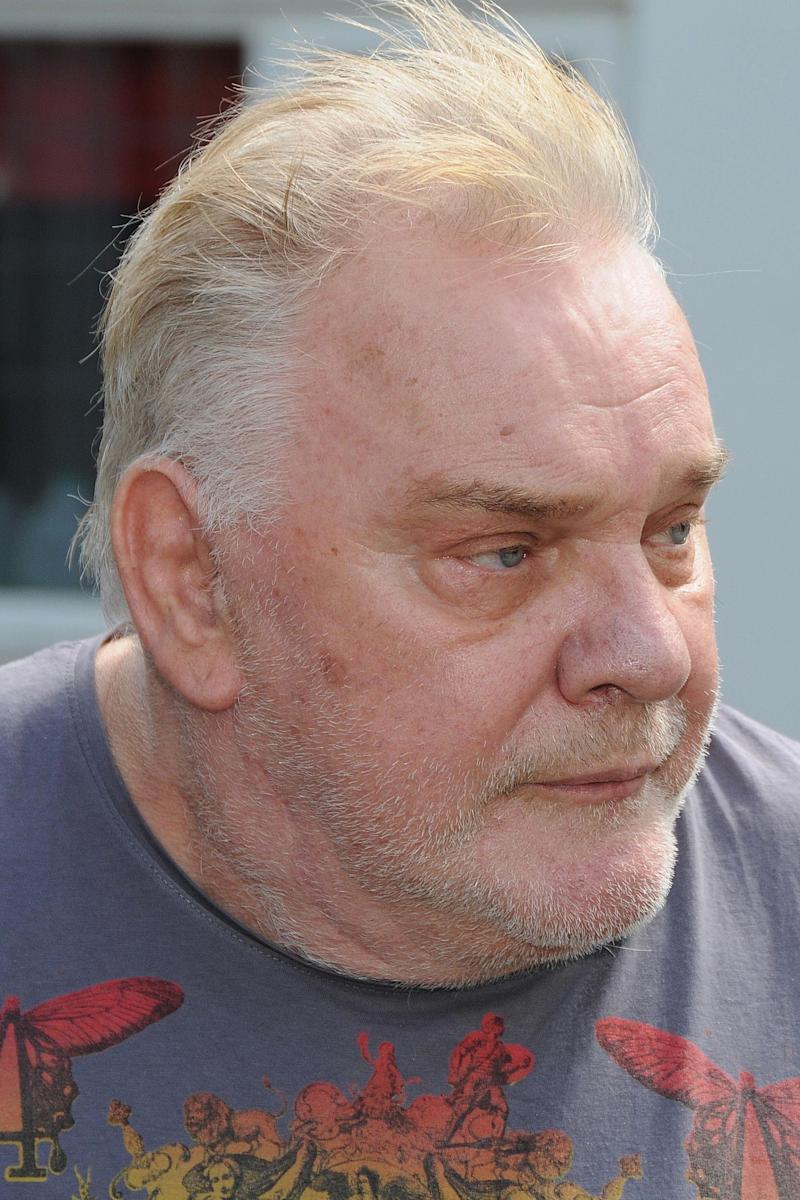 Freddie Starr outside his home in Warwickshire after the CPS confirmed that he will not be charged as part of Operation Yewtree due to insufficient evidence. (Photo by PA Images via Getty Images)