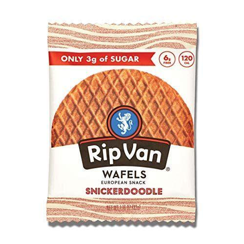 """<p><strong>Rip van Wafels</strong></p><p>amazon.com</p><p><strong>$19.15</strong></p><p><a href=""""https://www.amazon.com/dp/B07CD4K7HM?tag=syn-yahoo-20&ascsubtag=%5Bartid%7C1782.g.4497%5Bsrc%7Cyahoo-us"""" rel=""""nofollow noopener"""" target=""""_blank"""" data-ylk=""""slk:BUY NOW"""" class=""""link rapid-noclick-resp"""">BUY NOW</a></p><p>Craving a waffle but want a healthier option? Try one of these! It only has three grams of sugar.</p>"""