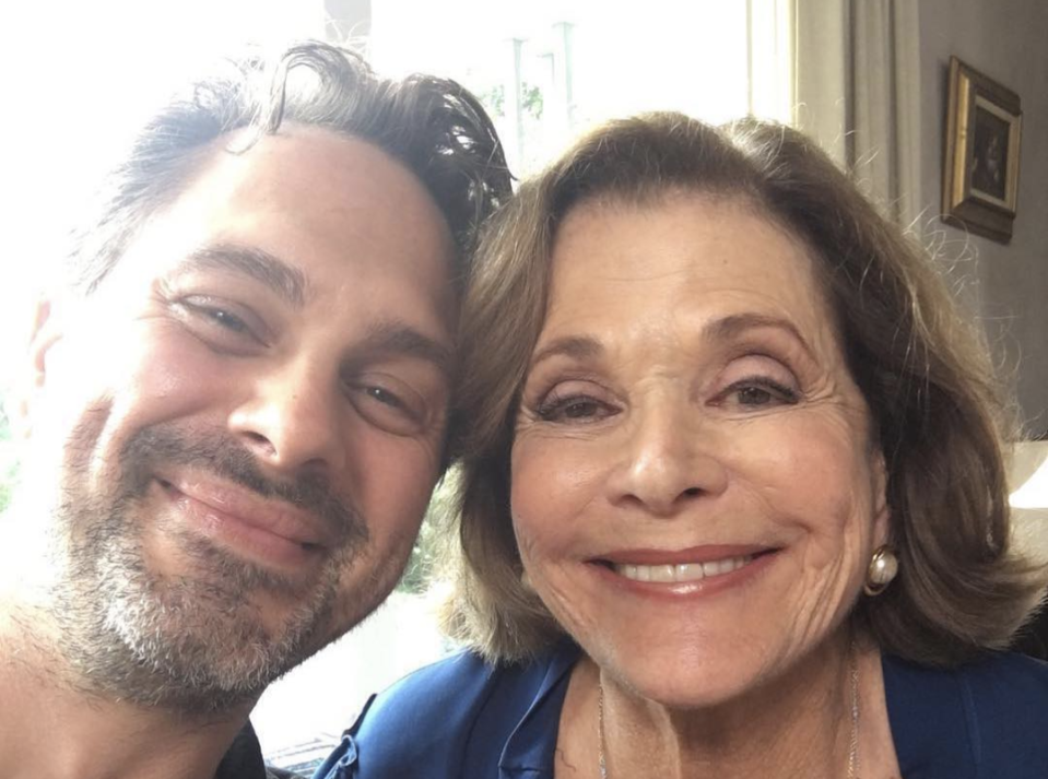 """Thomas Sadoski """"lost out on a job"""" after defending actress Jessica Walters. (Photo: Instagram)"""