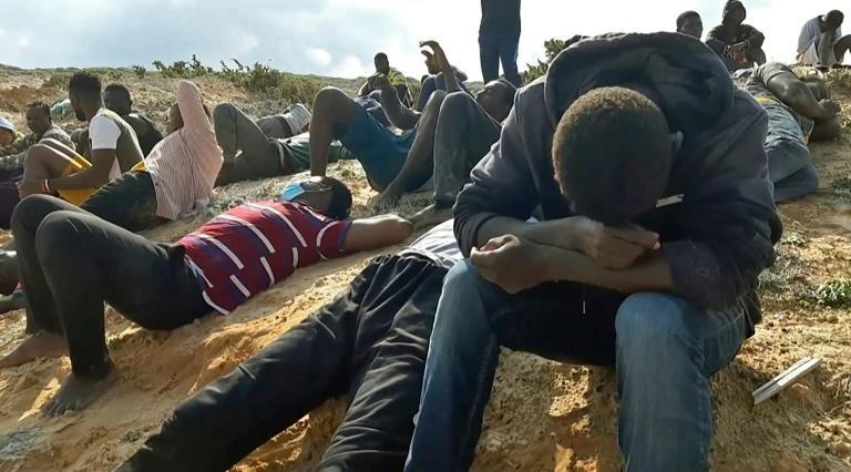 The UN's International Organization for Migration reported 'a devastating shipwreck which claimed the lives of at least 74 migrants today (Thursday) off the coast of Khoms,' a port city 120 kilometres (75 miles) east of the Libyan capital Tripoli