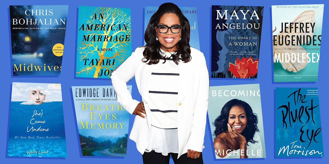 "<p>In 1996, Oprah started her very own book club — each year it seems to get bigger and better, with many of her literary picks often becoming national best-sellers. Her book club's newest chapter? A monumental <a href=""https://www.apple.com/newsroom/2019/09/oprahs-book-club-starts-a-new-chapter-with-apple/"" target=""_blank"">partnership with Apple</a> that connects users to her book-club picks on Apple Books, as well as author interviews on Apple TV+.</p><p> Here, we've rounded up the best Oprah's book club books, for those of you looking to take a recommendation from O herself!</p>"