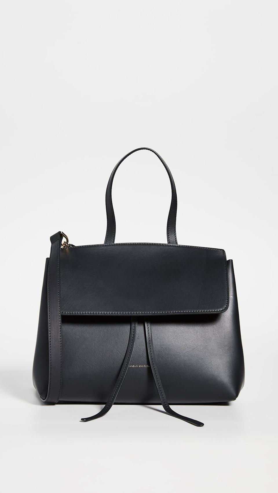 <p>This <span>Mansur Gavriel Mini Lady Bag</span> ($398, originally $795) is one you'll use all the time. Plus, it's also got a crossbody strap, so it's super wearable.</p>