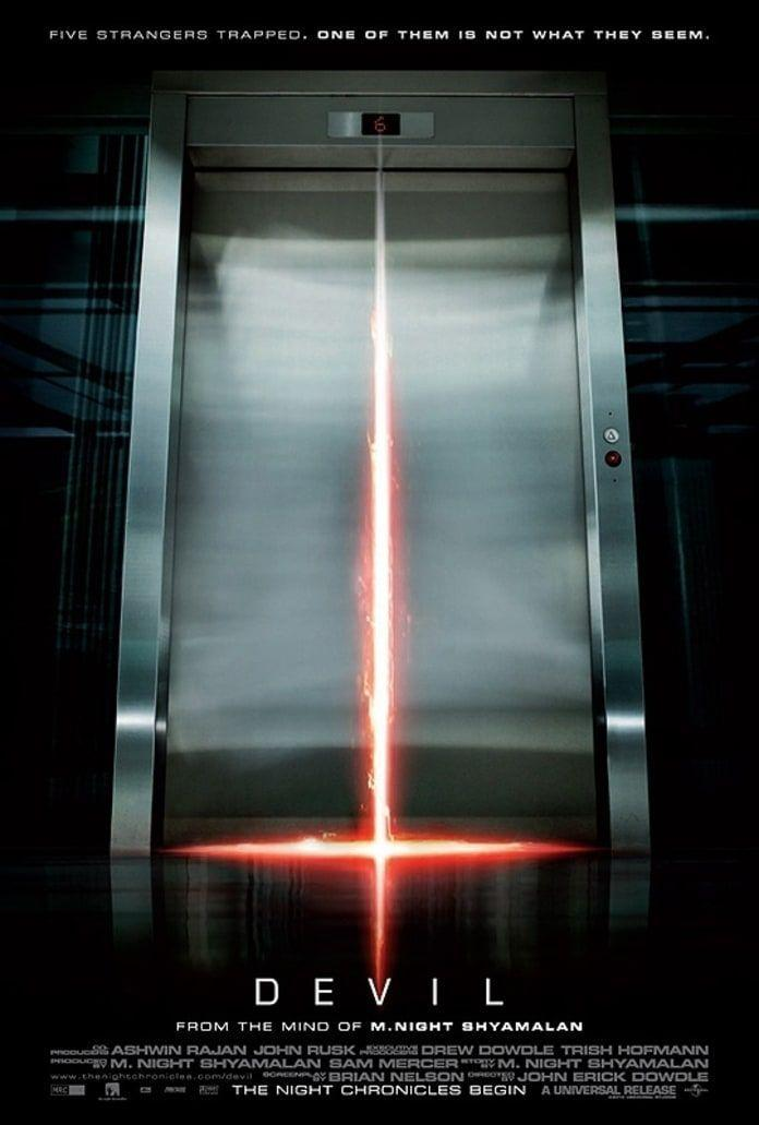 <p><em>Devil</em> will have you second-guessing seemingly normal parts of your daily routine. This spooky flick follows 5 people who find themselves trapped with the evilest force of them all when an elevator gets stuck shortly after a man jumps to his death from a skyscraper.</p>