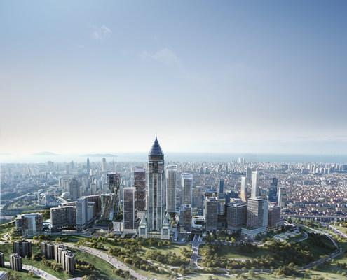 Istanbul financial center set to open in 2022