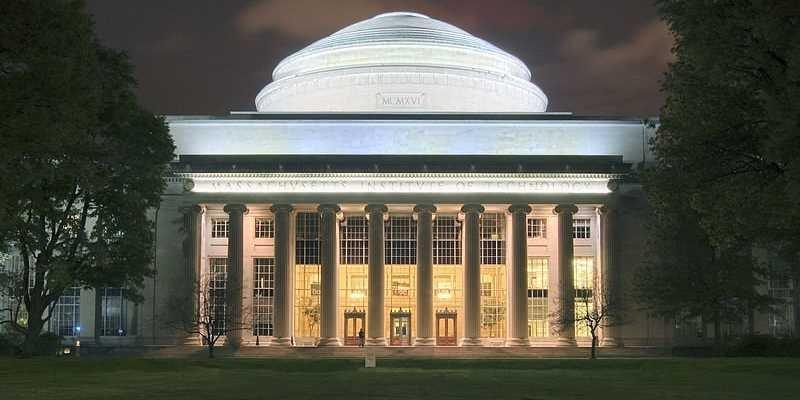 MIT Dome night