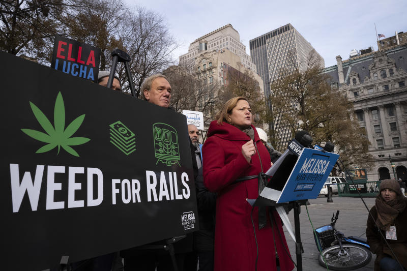 Former NYC official: Taxes from pot could fund subway fixes