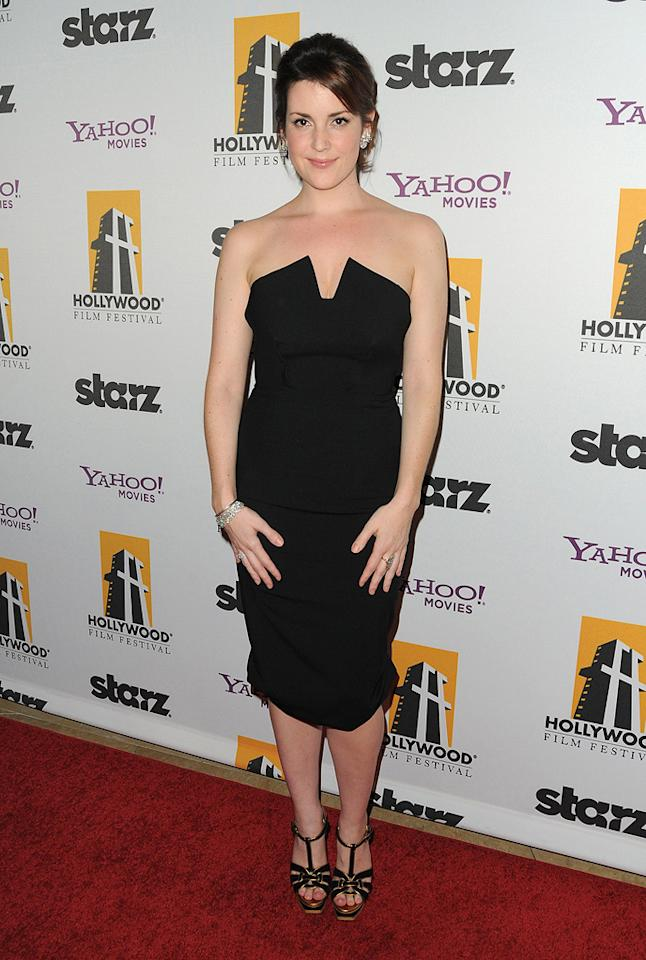 "<a href=""http://movies.yahoo.com/movie/contributor/1800226256"">Melanie Lynskey</a> at the 13th Annual Hollywood Awards Gala held at the Beverly Hilton Hotel - 10/26/2009"