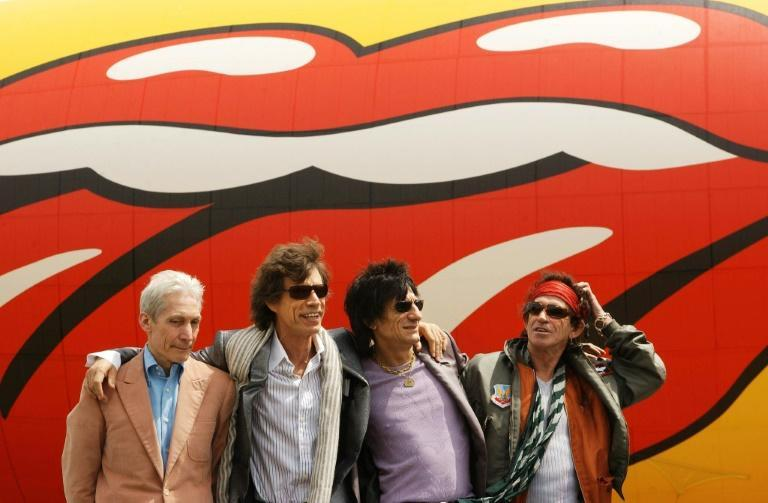 A 2002 photo of the Rolling Stones with Charlie Watts on the left, then lead singer Mick Jagger and guitarists Ron Wood and Keith Richards