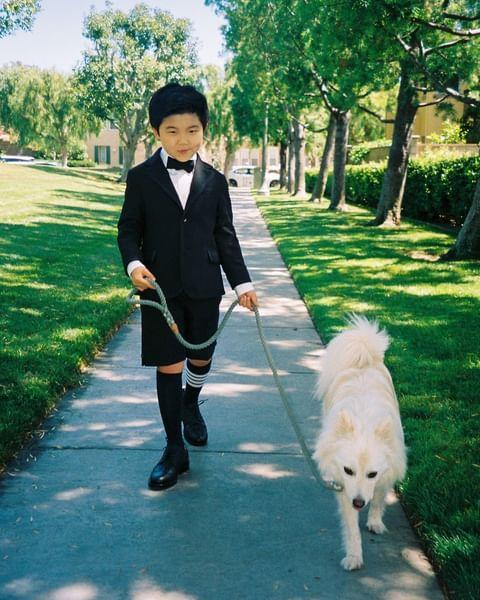 "<p>The Minari star gave fans a look into his Oscars prep before the ceremony, at which he wore Thom Browne, which involved walking his dog Cream. </p><p><a href=""https://www.instagram.com/p/COGooAKNRdN/?utm_source=ig_web_copy_link"" rel=""nofollow noopener"" target=""_blank"" data-ylk=""slk:See the original post on Instagram"" class=""link rapid-noclick-resp"">See the original post on Instagram</a></p>"