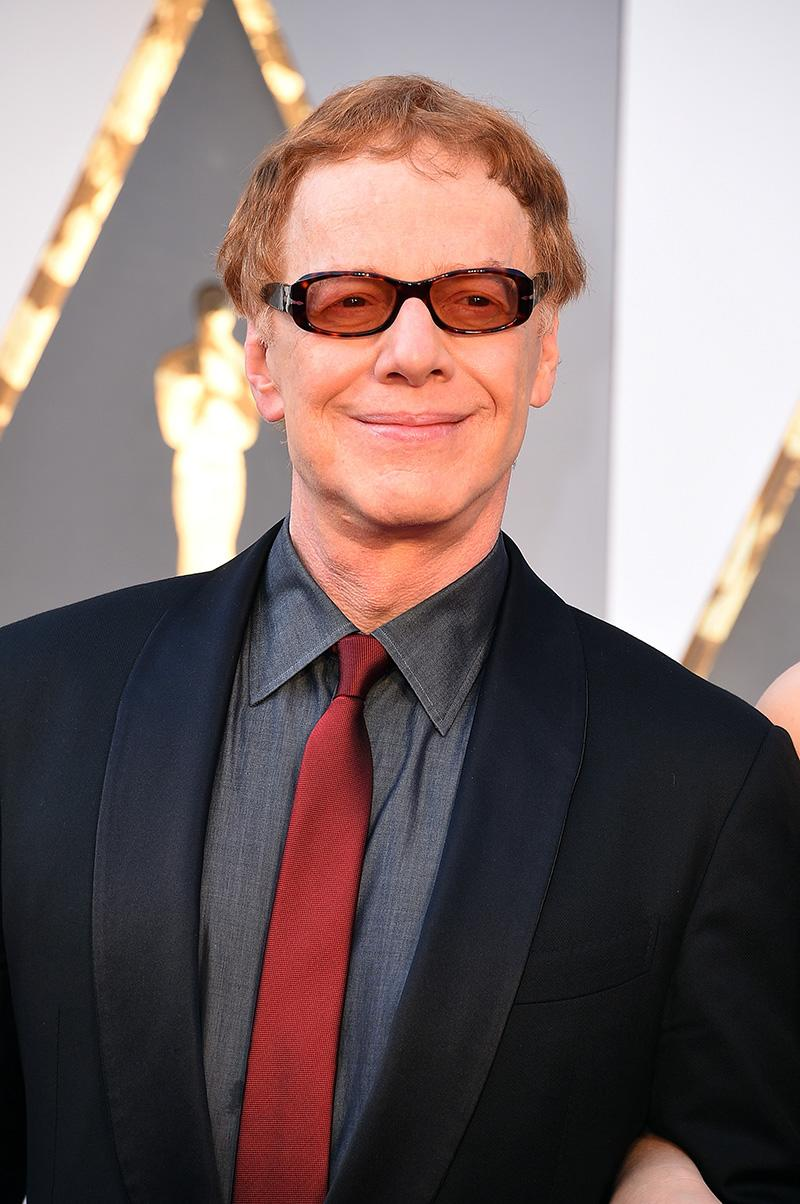 The musician, who rose to fame in the '80s in the new wave band Oingo Boingo, is nominated for Outstanding Music Direction for PBS's Danny Elfman's Music From the Films of Tim Burton. Elfman won his first Emmy 11 years ago for composing the main title theme to Desperate Housewives. (Photo: Getty Images)