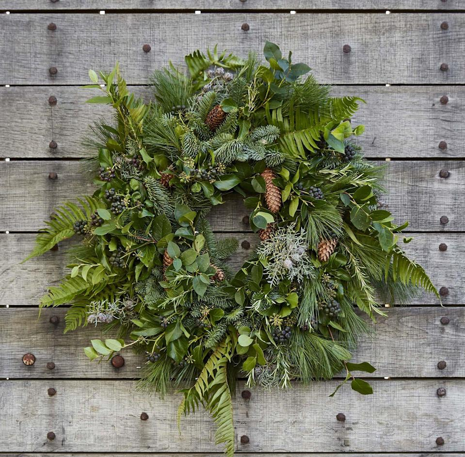 """<p>Petersham Nurseries' outposts in Covent Garden and Richmond are running a series of wreath-making workshops to celebrate the start of the festive season, held on a small scale in their large and airy greenhouses to ensure Covid safety. Craft your wreath from a large selection of seasonal foliage including evergreen firs, thistles, dried hydrangea heads, pine cones and bay, with expert help at hand to allow you to create the ultimate festive adornment for your front door. </p><p>The courses run from 23 November to 1 December; tickets cost £150 and can be purchased on the <a href=""""https://petershamnurseries.com/"""" rel=""""nofollow noopener"""" target=""""_blank"""" data-ylk=""""slk:Petersham Nurseries website"""" class=""""link rapid-noclick-resp"""">Petersham Nurseries website</a>. </p>"""