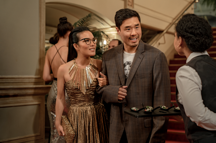 """Ali Wong and Randall Park play childhood friends who rekindle their romance in """"Always Be My Maybe."""""""