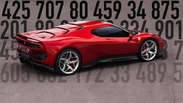 From a one-off Ferrari to a new Shelby Mustang, these are the most important numbers of the week.