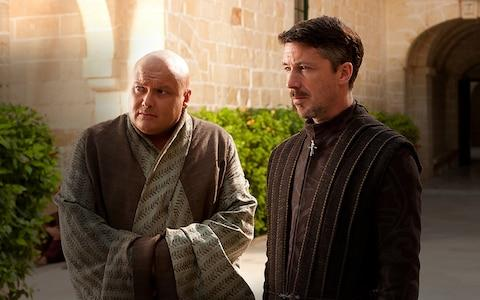 Lord Varys and Peter Baelish - Credit: HBO