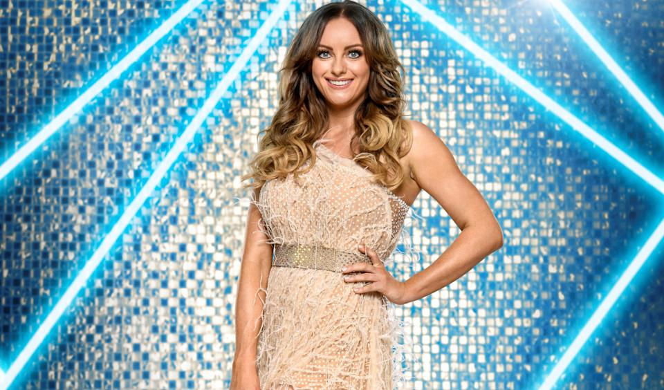 Soap actor Katie McGlynn is a self-confessed fan of 'Strictly Come Dancing'. (BBC)