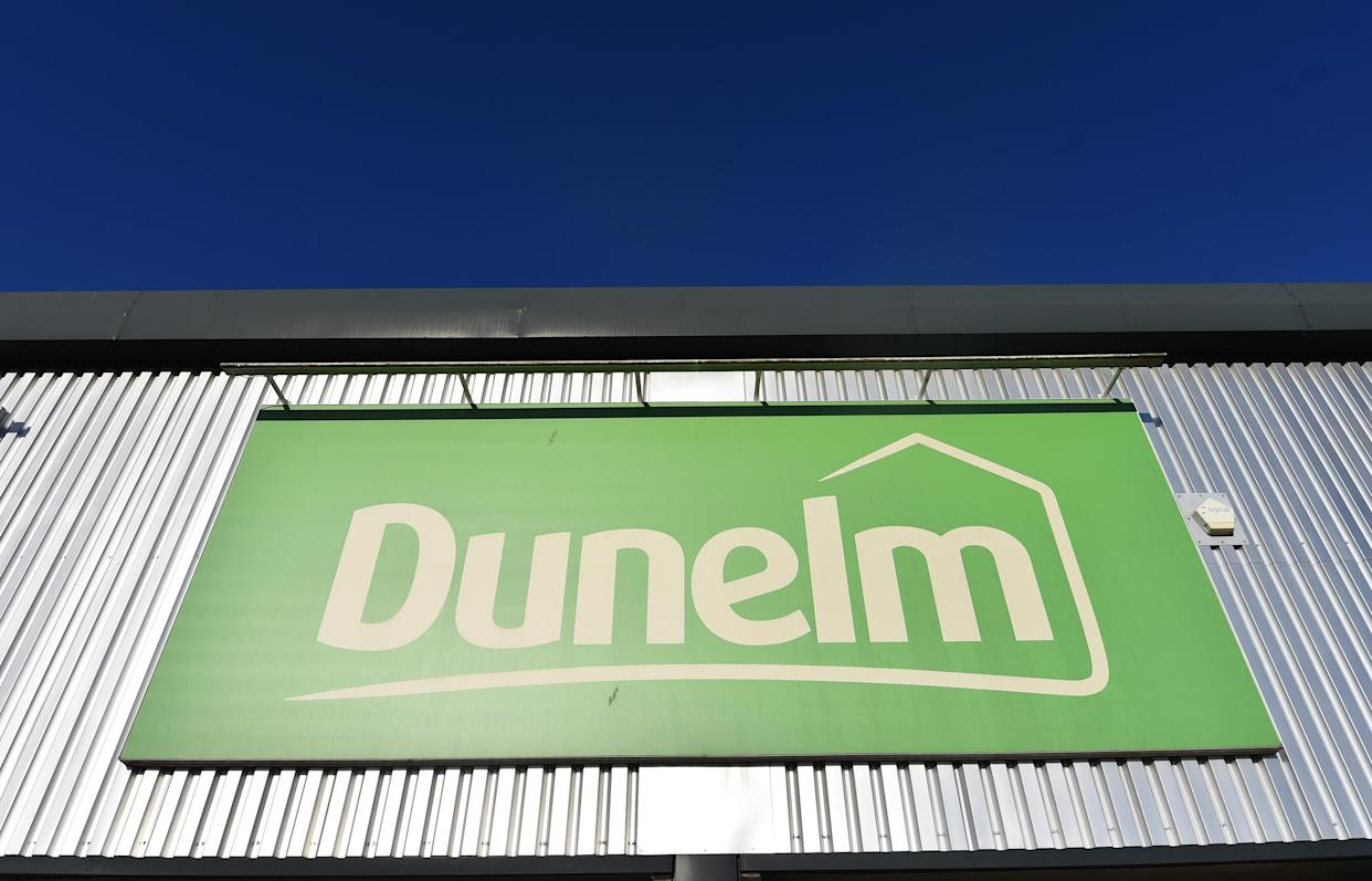 STOKE-ON-TRENT, ENGLAND- MAY 07: A general view outside a Dunelm retail store on May 07, 2021 in Stoke-on-Trent, England . (Photo by Nathan Stirk/Getty Images)