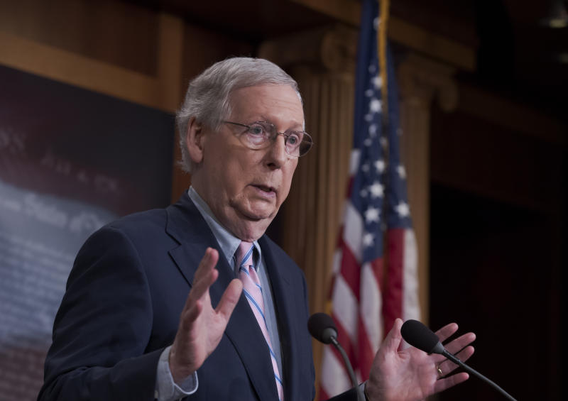 McConnell now open to Supreme Court nomination in presidential election year
