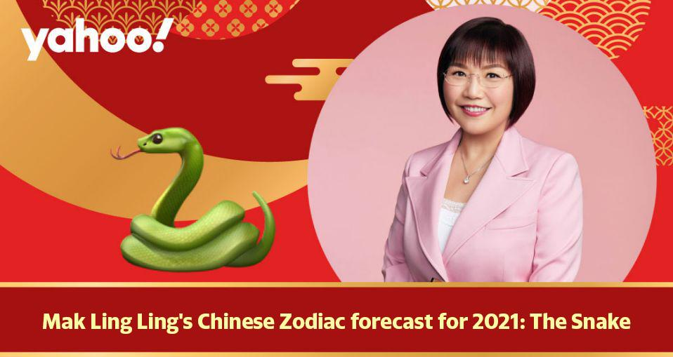 Mak Ling Ling's Chinese Zodiac forecast for 2021: The Snake