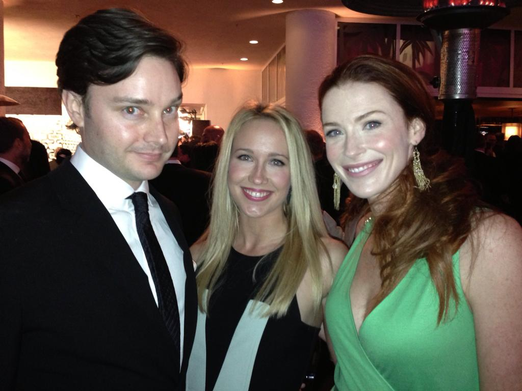 TRUE BLOOD Reunion at HBO's #GoldenGlobes party -- and a BEAUTY to boot! - @MichaelAusiello