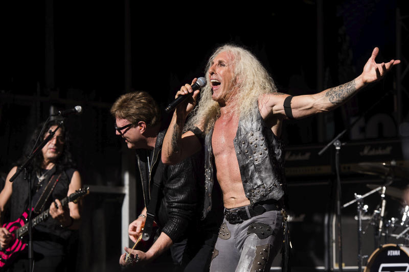 US Mask Protest Twisted Sister