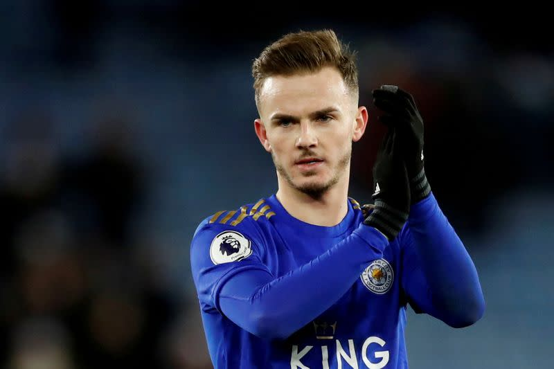 Leicester's Rodgers rules out Maddison departure in January