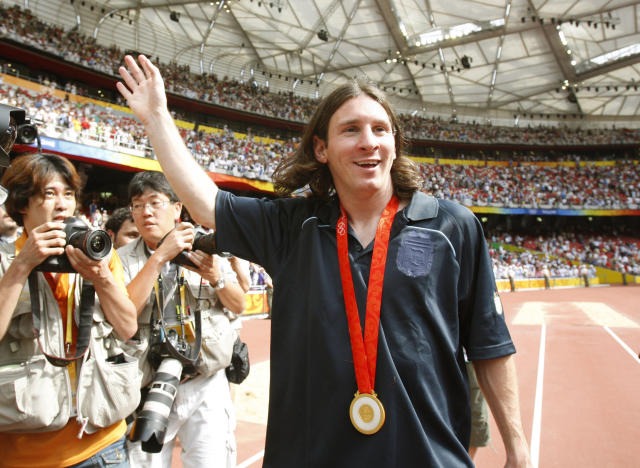 <p>Lionel Messi has amassed more individual and club honors than just about anyone in the history of soccer. However, the list of his international triumphs with Argentina is surprisingly short, consisting merely of a U-20 World Cup win in 2005 and a gold medal at the 2008 Beijing Olympics. (AP) </p>