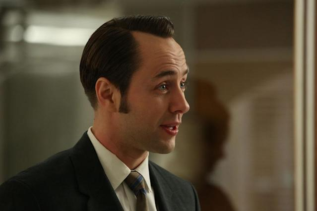 "Pete Campbell (Vincent Kartheiser) in the ""Mad Men"" episode, ""For Immediate Release."""