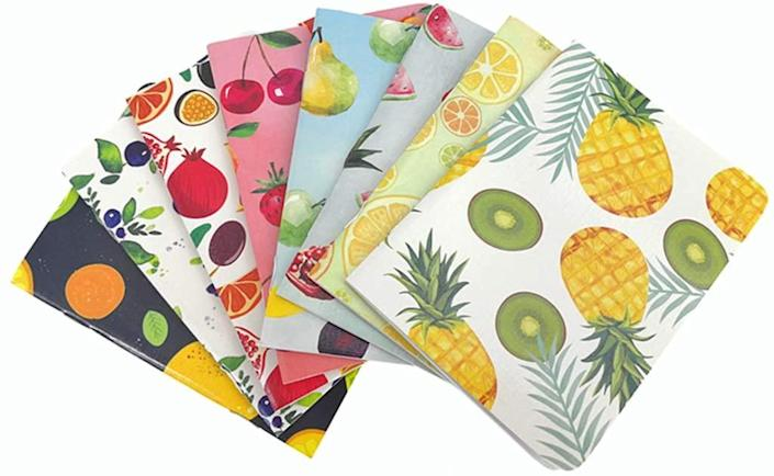 alimitopia fruit covered notebooks