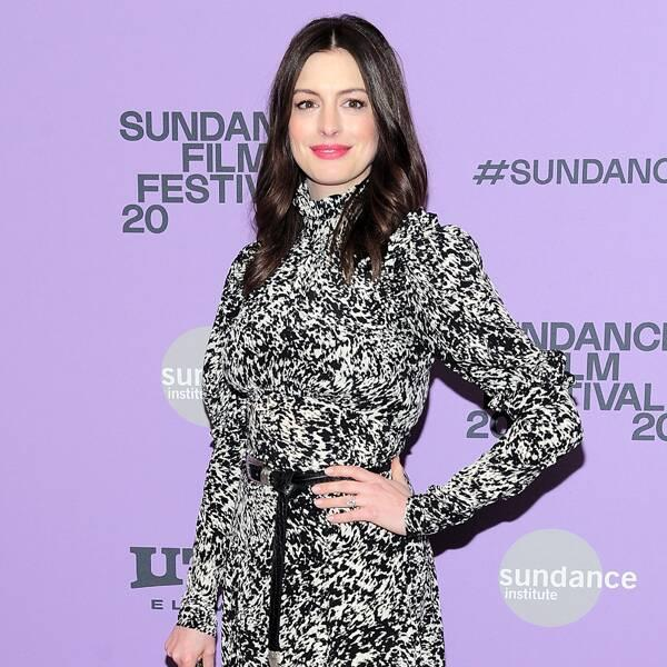 You'll Never Believe What Anne Hathaway's Son Thinks She Does For a Living
