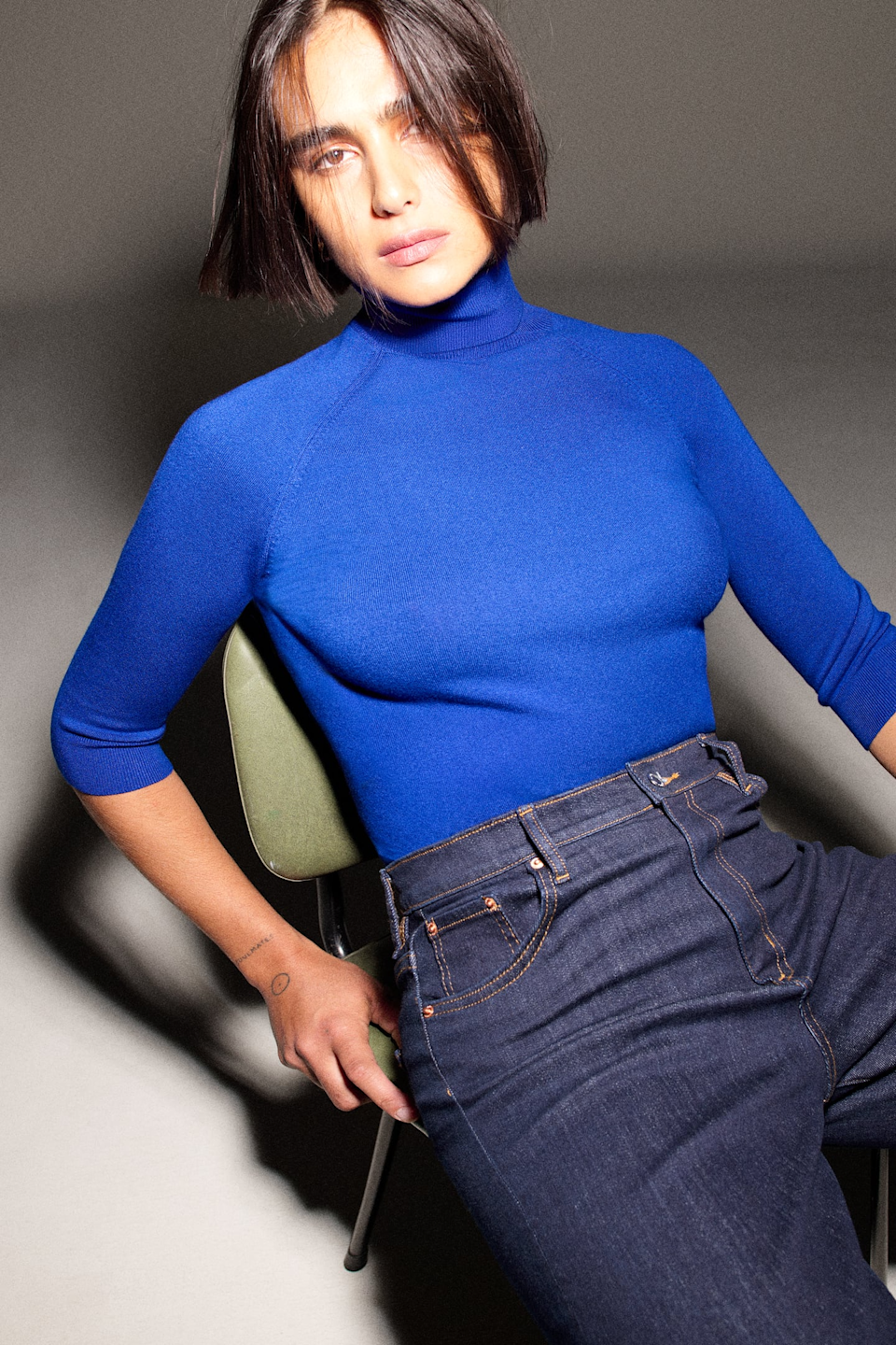 """<h2>Zara High Collar Knit Sweater</h2><br>""""It's not officially fall for me until I bust out the turtlenecks. It is so easy to make your winter wardrobe look effortless and chic when you buy a hundred turtlenecks in different colors and variations. You can always find me making a beeline to Zara for the brand's inexpensive yet durable cold-weather basics."""" <em>– Alexandra Polk, Lifestyle Writer</em><br><br><em>Shop <a href=""""http://zara.com"""" rel=""""nofollow noopener"""" target=""""_blank"""" data-ylk=""""slk:Zara"""" class=""""link rapid-noclick-resp"""">Zara</a></em><br><br><strong>Zara</strong> HIGH COLLAR KNIT SWEATER, $, available at <a href=""""https://go.skimresources.com/?id=30283X879131&url=https%3A%2F%2Fwww.zara.com%2Fus%2Fen%2Fhigh-collar-knit-sweater-p05646124.html"""" rel=""""nofollow noopener"""" target=""""_blank"""" data-ylk=""""slk:Zara"""" class=""""link rapid-noclick-resp"""">Zara</a>"""