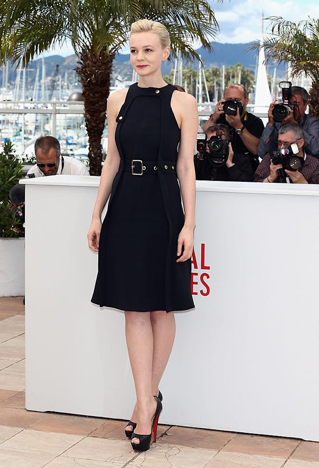 CANNES, FRANCE - MAY 19: Actress Carey Mulligan attends the 'Inside Llewyn Davis' photocall during the 66th Annual Cannes Film Festival at the Palais des Festivals on May 19, 2013 in Cannes, France. (Photo by Andreas Rentz/Getty Images)
