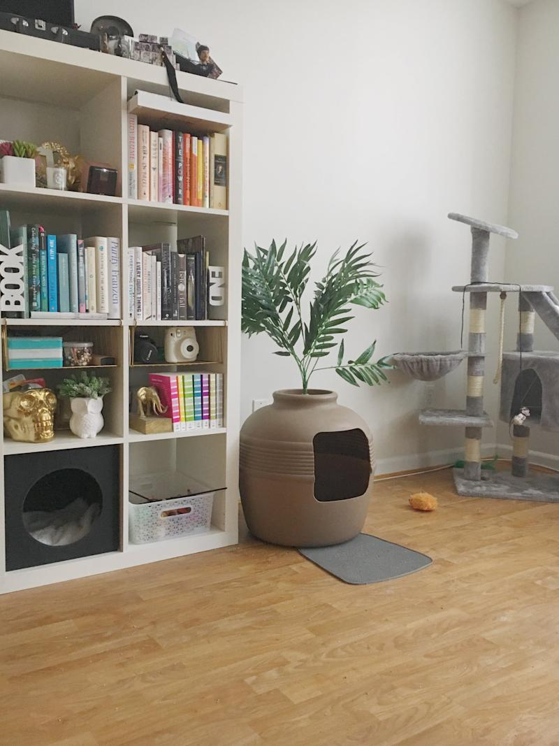 If You Have Cats in a Tiny Apartment, This Genius Litter Box ...