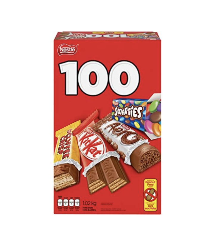 Nestlé Mini chocolates and assorted candies (pack of 100)