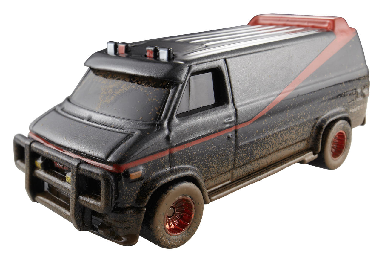 <b>Hot Wheels A-Team Custom GMC Panel Van</b><br />Mattel