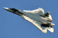 """<p>Built to rival America's F-22, Russia's Su-57 is a <a href=""""http://www.military-today.com/aircraft/sukhoi_pak_fa.htm"""" rel=""""nofollow noopener"""" target=""""_blank"""" data-ylk=""""slk:multi-role fighter"""" class=""""link rapid-noclick-resp"""">multi-role fighter</a> with a mix of stealth, speed, and advanced weapons and sensors. While among the <a href=""""https://www.popularmechanics.com/military/aviation/a32587169/su-57-unmanned/"""" rel=""""nofollow noopener"""" target=""""_blank"""" data-ylk=""""slk:most cutting edge fighters"""" class=""""link rapid-noclick-resp"""">most cutting edge fighters</a> in the world, many critics believe the Su-57 is still a step or two behind its competition in the West.</p>"""