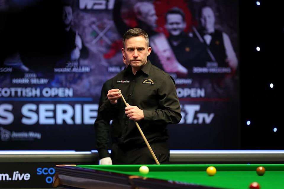 Jones was handed a one-year ban from the World Snooker Tour but is back with a bang in Sheffield