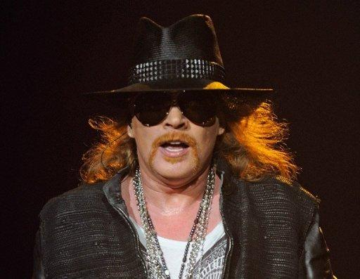 Axl Rose is the only remaining member of the original line-up of Guns N' Roses