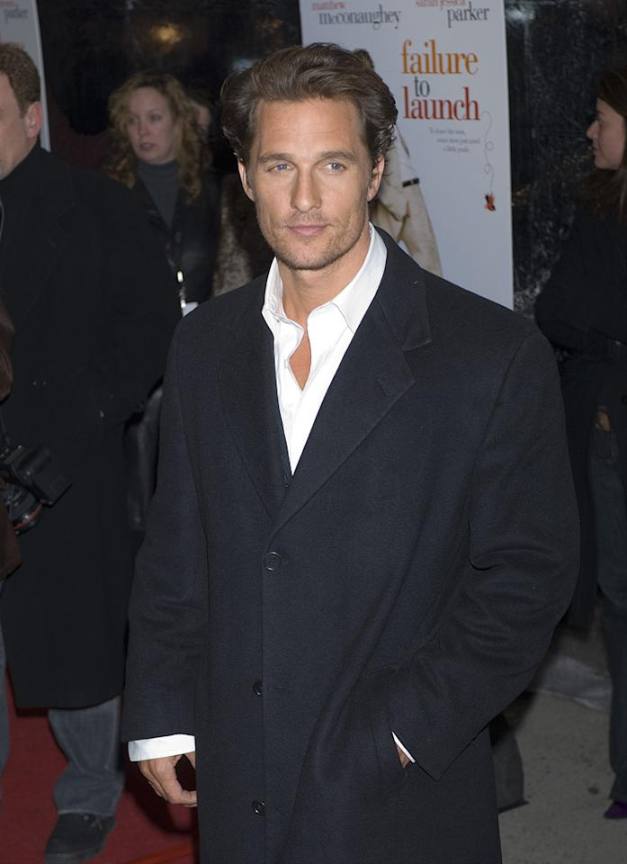 "<a href=""http://movies.yahoo.com/movie/contributor/1800018907"">Matthew McConaughey</a> at the New York premiere of <a href=""http://movies.yahoo.com/movie/1808722048/info"">Failure to Launch</a> - 03/08/2006"